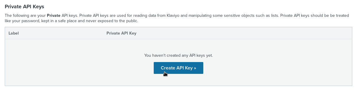 Connect Neto and Klaviyo