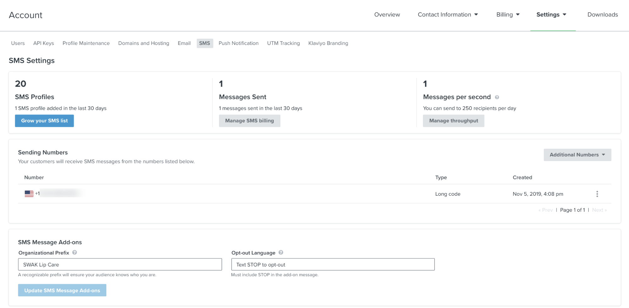 Collect SMS consent on checkout 05